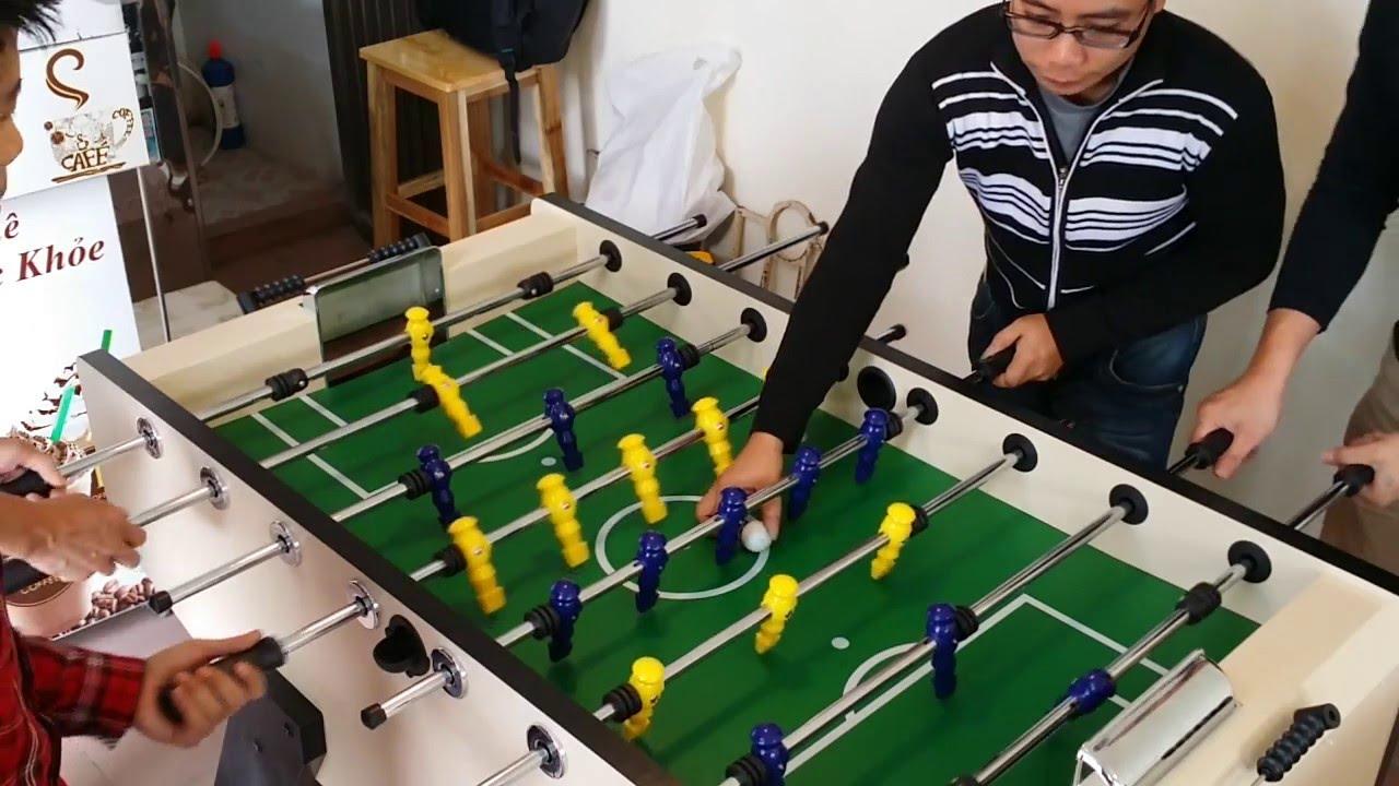 [Foosball Vietnam Club] Bi lắc, banh bàn, bilak – Trận 2