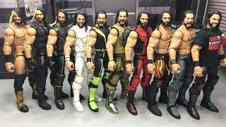 THE EVOLUTION OF SETH ROLLINS | WWE FIGURES