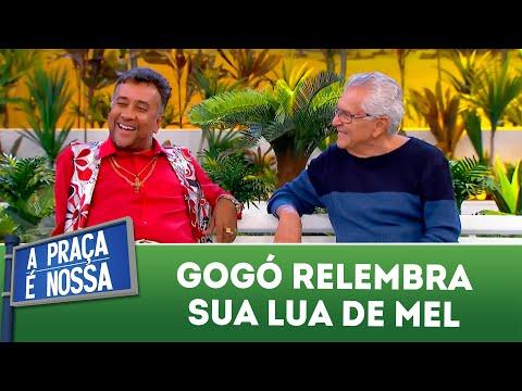 Gogó relembra sua lua de mel | A Praça é Nossa (15/03/18)