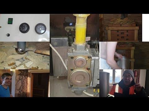 Газовая банно-саунная печь RST Туймазинского завода. Отзыв.Обзор и тест в коммерческой бане.