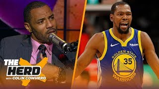 Kenyon Martin explains KD saying LeBron creates a toxic playing environment | NBA | THE HERD