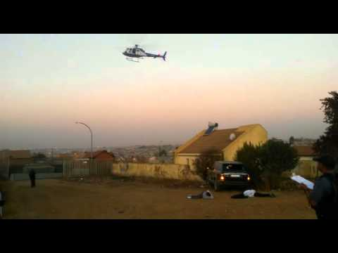 Footage from the aftermath of the Tembisa shooting.