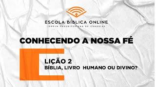 EBD ONLINE - AULA 2 (25/10/2020)