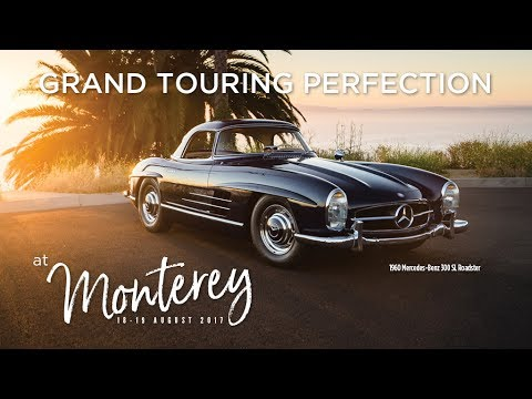 Monterey 2017: 1960 Mercedes Benz 300 SL Roadster Is Grand Touring  Perfection