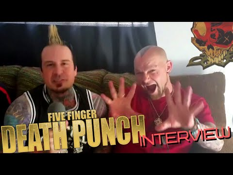 Five Finger Death Punch  with Diesel On Radio 5418