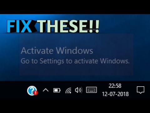 how to remove activate windows watermark 2018