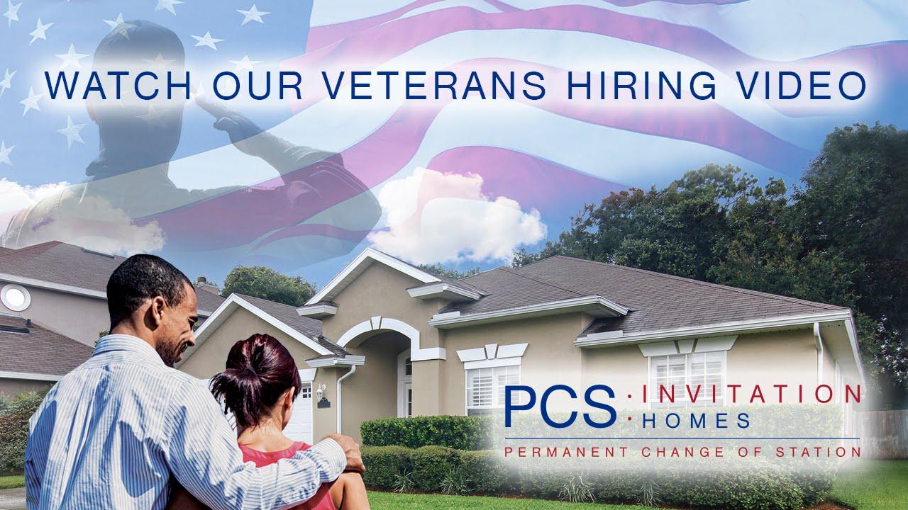 PCS Invitation Homes - Military Veterans Hiring Program