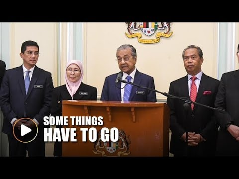 PM: Government may hit the brakes on some projects