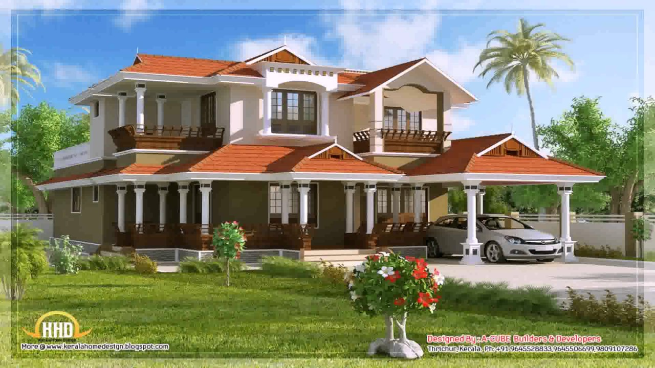 Double Story House Designs Indian Style See Description