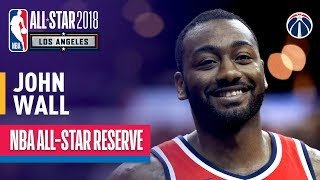 John Wall All-Star Reserve | Best Highlights 2017-2018