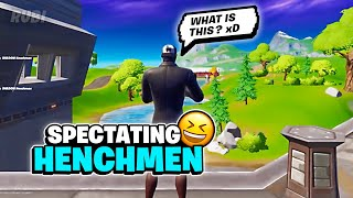 i Spectated Marauders \u0026 Henchmen in Fortnite Mobile 😆 | Funny Moments Montage (iPad Pro 2020)