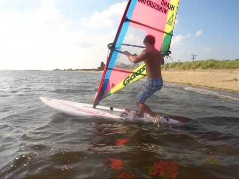 windsurfing - beach start