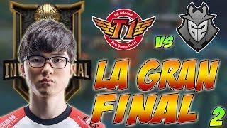 LA GRAN FINAL DEL MSI   SKT vs G2 Resumen y Highlights   Segunda Parte