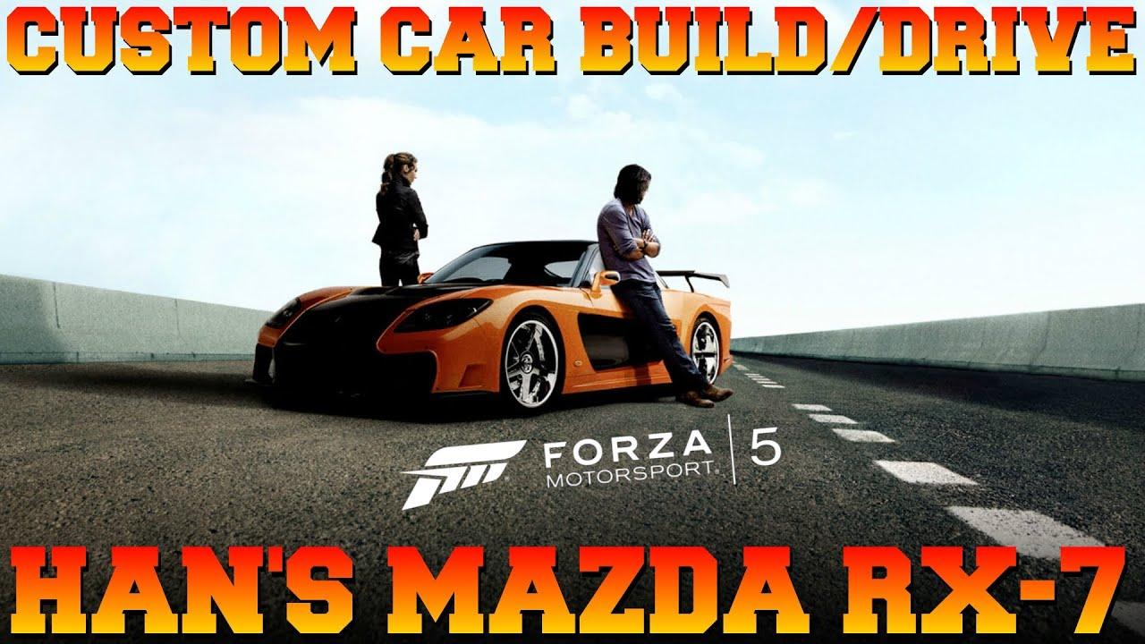 "forza 5 custom cars 14 han\u0027s mazda rx 7 \""tokyo drift\"" !!!! youtubeforza 5 custom cars 14 han\u0027s mazda rx 7 \""tokyo drift\"" !"