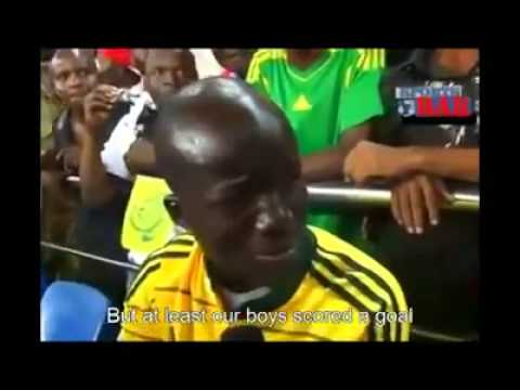 Mali fan crying after Nigeria match..loool!