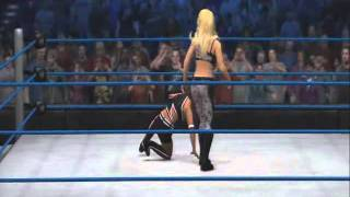 WWE 12' | Natalya Signature & Finishing Moves (Vertical Suplex+The Sharpshooter)