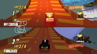 Hot Wheels: Beat That! - Multiplayer - Quickrace: Bedroom Brawl [Part 2]