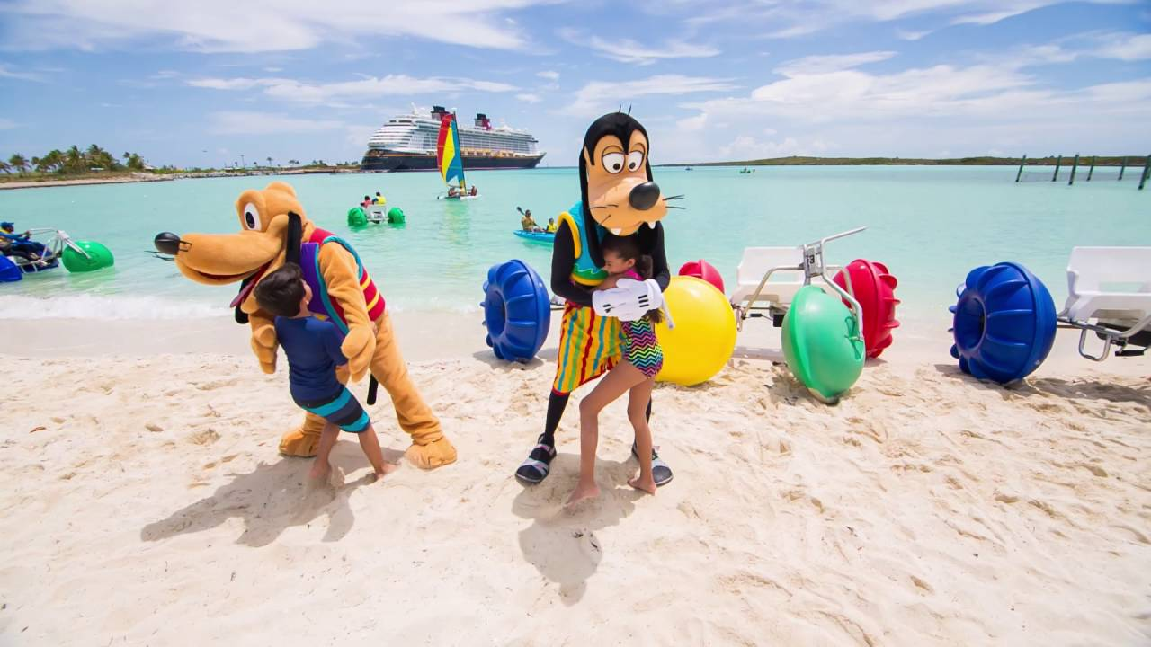 Castaway Cay La Isla Privada De Disney Cruise Line Youtube