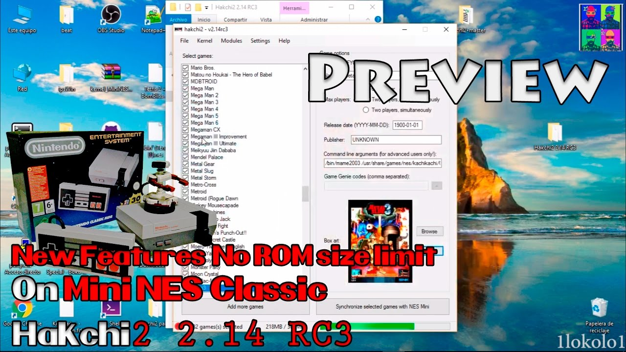 PREVIEW Hakchi2 2 14 RC3 New Amazing Features    Also Metal Slug 3