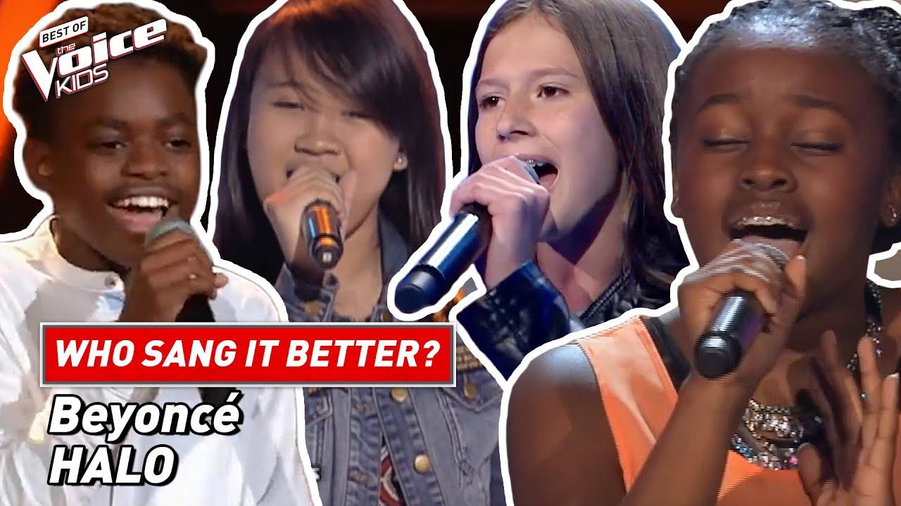"Download Who sang Beyoncé's ""Halo"" better? 👼 | The Voice Kids"