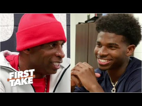 Deion Sanders interviewed by his sons about coaching at Jackson State   First Take