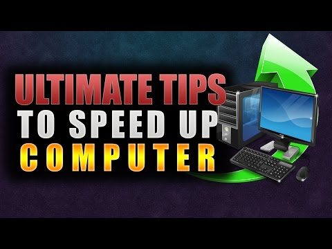 How To Make Your Computer Faster For Gaming and More Performance | Windows 10/8.1/8  | Speed Up PC
