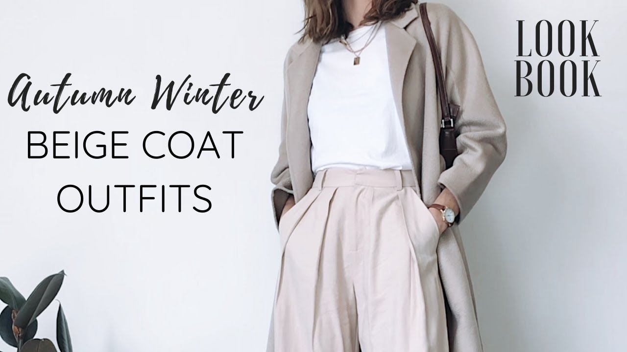 [VIDEO] – Beige Coat Outfits of The Week LOOKBOOK | Mute by JL | Autumn Winter Outfits