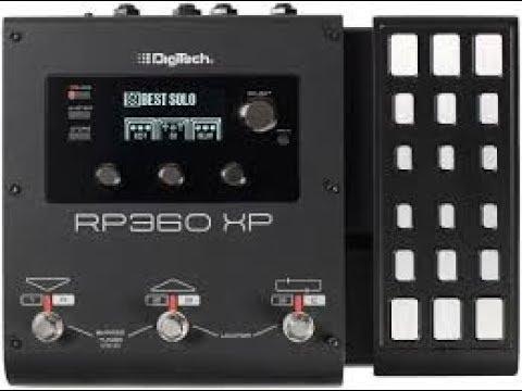 Digitech RP 360 XP Démo par Magix Fingers