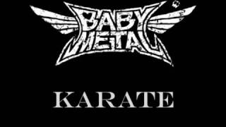 karate babymetal lyrics