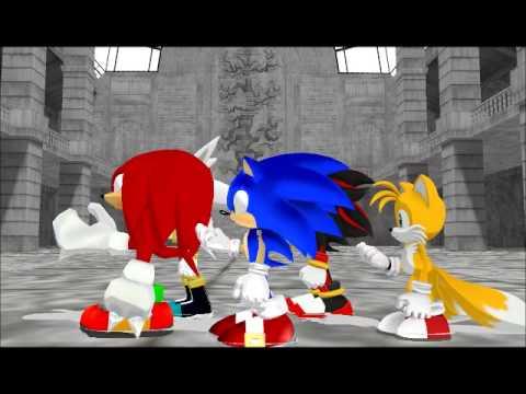 "Sonic Team ""Michael Jackson's BAD!"" (MMD)"