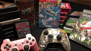 Video Game Pickups - Crystal XBox Controller, XBox 360, PS3, Atari 2600, PS2