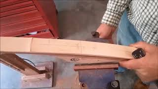 Finishing the Huntworthy Productions Bow Blank