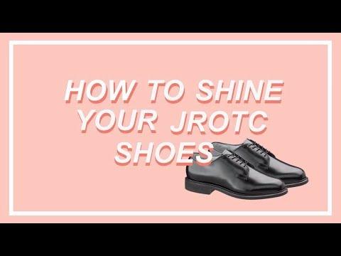 How To Shine Your JROTC Shoes