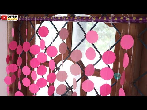 How to Make Paper Wall Hanging | Paper Craft Easy