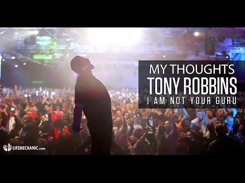 I Am Not Your Guru Talk With Tony Robbins