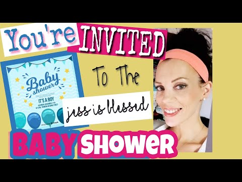 Official Virtual Baby Shower Invitation!