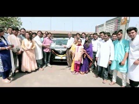 Delivery of the Renault KWID on Gudi Padwa