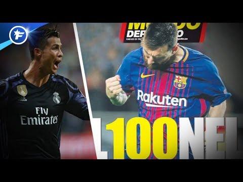 Le 100e but de Messi, plus rapide que CR7 | Revue de presse