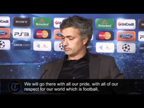 Jose Mourinho's angry reaction to Real Madrid's Champions Le