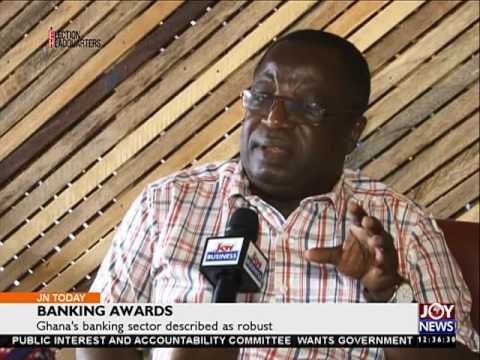 Banking Awards - Business on Joy News Today (24-8-16)