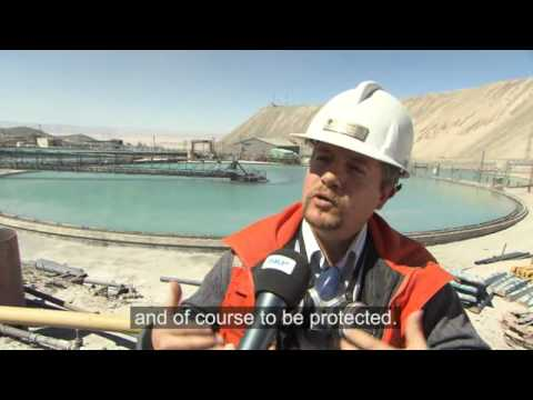 SKF - Copper mining at the driest place on earth