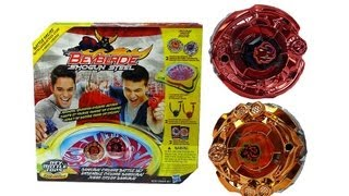 (CLOSED)Beyblade Shogun Steel Samurai Cyclone Battle Set Unboxing Review Giveaway Expires July 4th