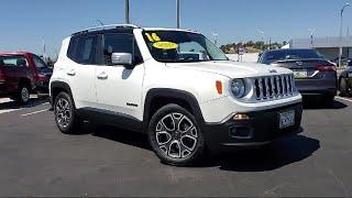 2016 Jeep RENEGADE Sport Utility Limited  San Jose Santa Clara Los Gatos Fremont