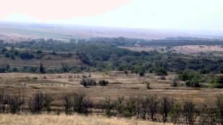 Донецк РФ граница России и Украины.