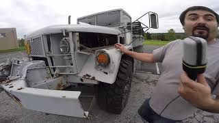 Modifying a M35A2 Deuce and a Half for Civilian Use