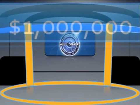 who wants to be a millionaire powerpoint v4 - youtube, Powerpoint templates