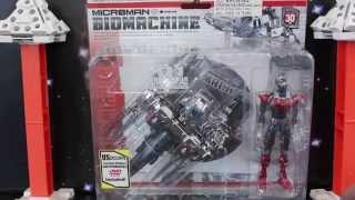 Microman Biomachine BM-01 Machinemirror + XEKU review