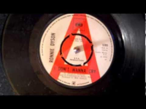 I Don't Wanna Cry - Ronnie Dyson