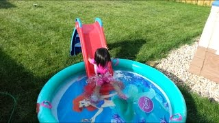 Baby Pool Slide Toys Playground Games