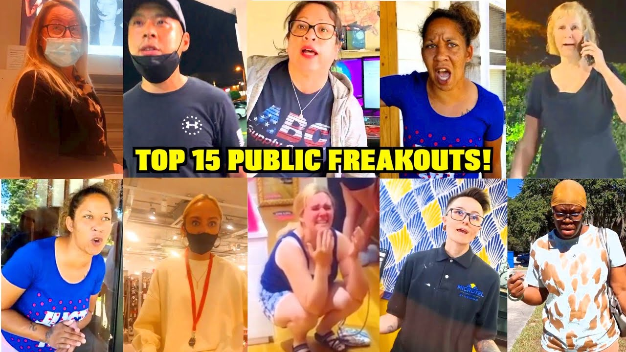 Top 15 Public Freakouts You CANT AFFORD TO MISS!